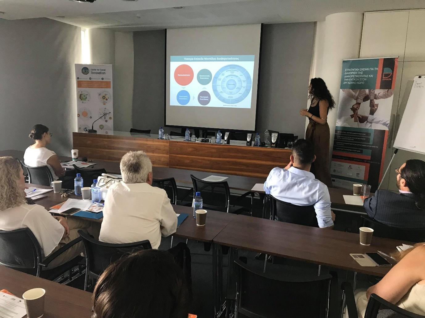Multiplier Event and Training Session: 'Diversity Management and Inclusion in the Workplace' in Nicosia